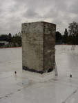 Chimney on 4008 N Mississippi (POV of stiched panoramic)