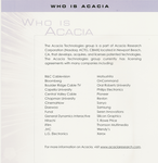 Acacia-Who-Is