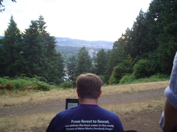 The view from mt tabor